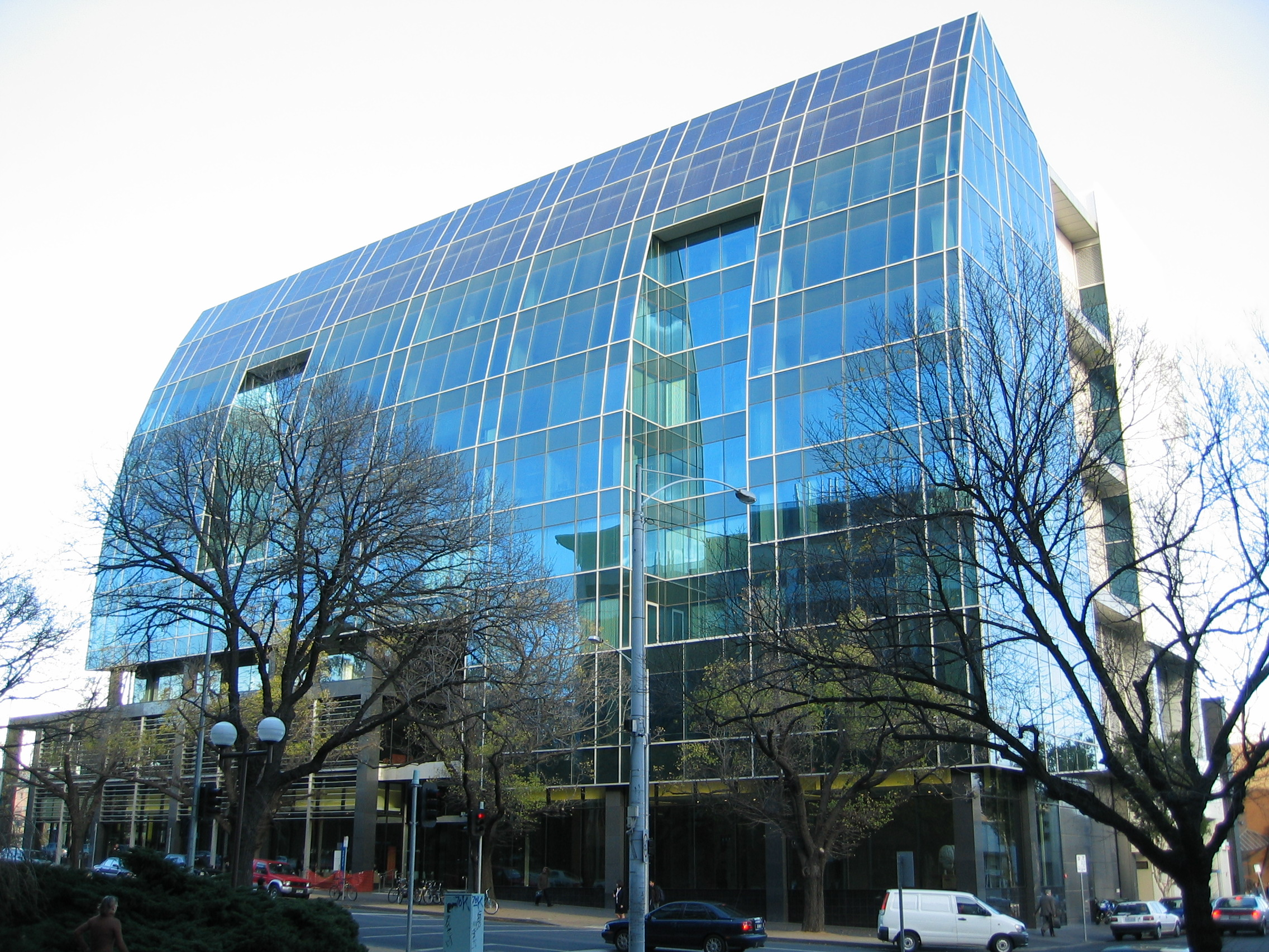 Photograph of Alan Gilbert Building : Building 104